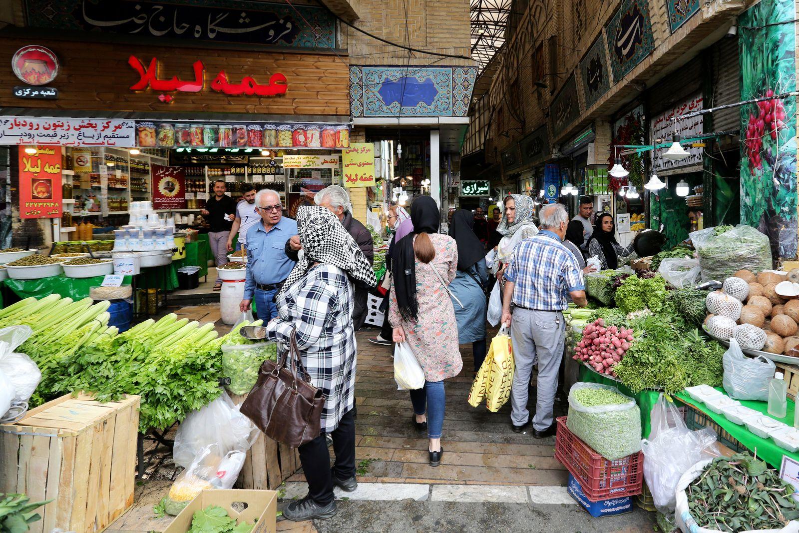 Iran / Teheran / Konjunktur / Wirtschaft