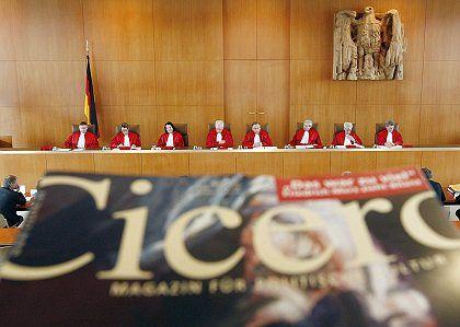 """""""Cicero""""-Urteil des Bundesverfassungsgerichts: Ein Fall, der nicht zu entscheiden ist?"""