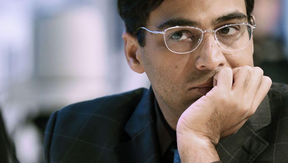 Ex-Weltmeister Anand: Unentschieden gegen Wladimir Kramnik