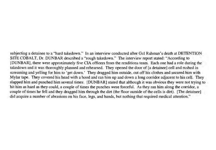 Screenshot aus dem CIA Folterbericht