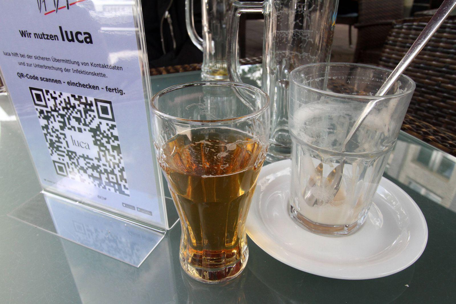 Aufgrund anhaltend niedriger Inzidenzen im Landkreis Wetterau durften gastronomische Betriebe ihren Außenbereich wieder