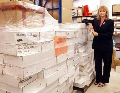 Theresa LePore überwacht die Wahlen in Palm Beach County