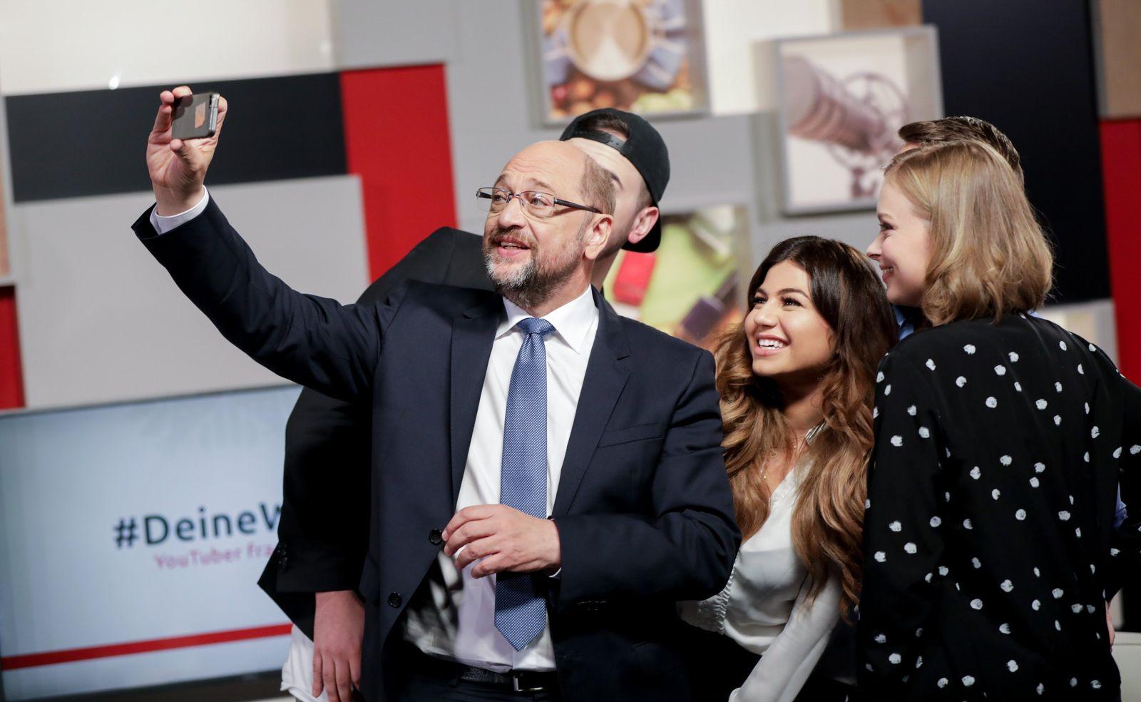 YouTuber fragen Martin Schulz