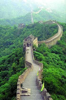 Chinesische Mauer: Stolzes Zeugnis der chinesischen Tradition, sich vom Rest der Welt abzuschotten