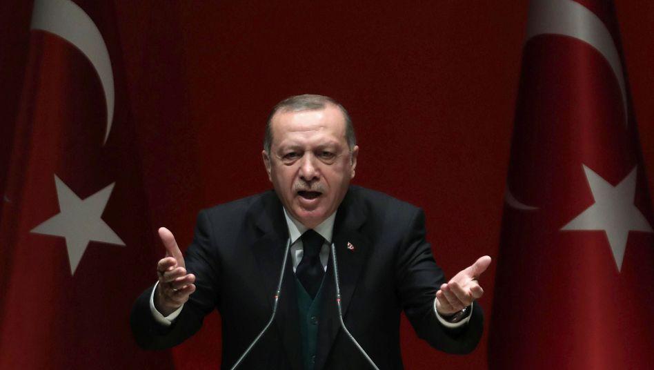 Recep Tayyip Erdogan: Die türkische Syrien-Strategie geht nicht auf