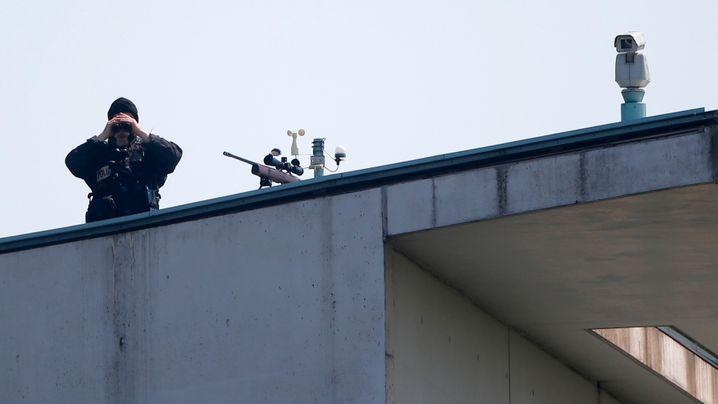 Obama-Besuch: Berlin, 19. Juni, Sicherheitsstufe 1+