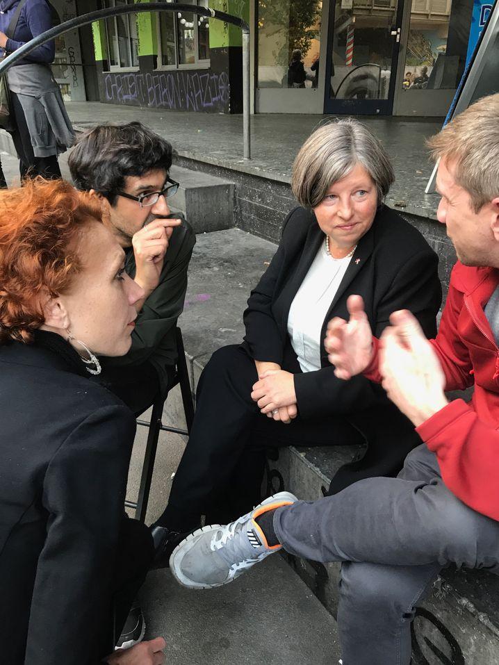 Berliner Stadtentwicklungssenatorin Katrin Lompscher, Patrick Neumann