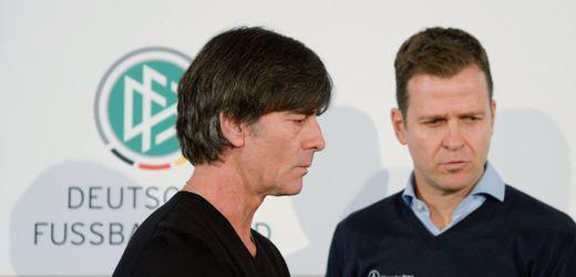 Oliver Bierhoff und Joachim Löw: Eine Beziehung bröckelt