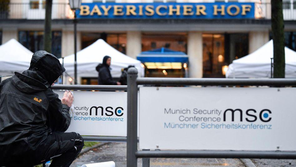 Münchner Sicherheitskonferenz (Archivbild): 18 Staatschefs, 12 Regierungschefs und 70 Außen- und Verteidigungsminister haben diesmal zugesagt