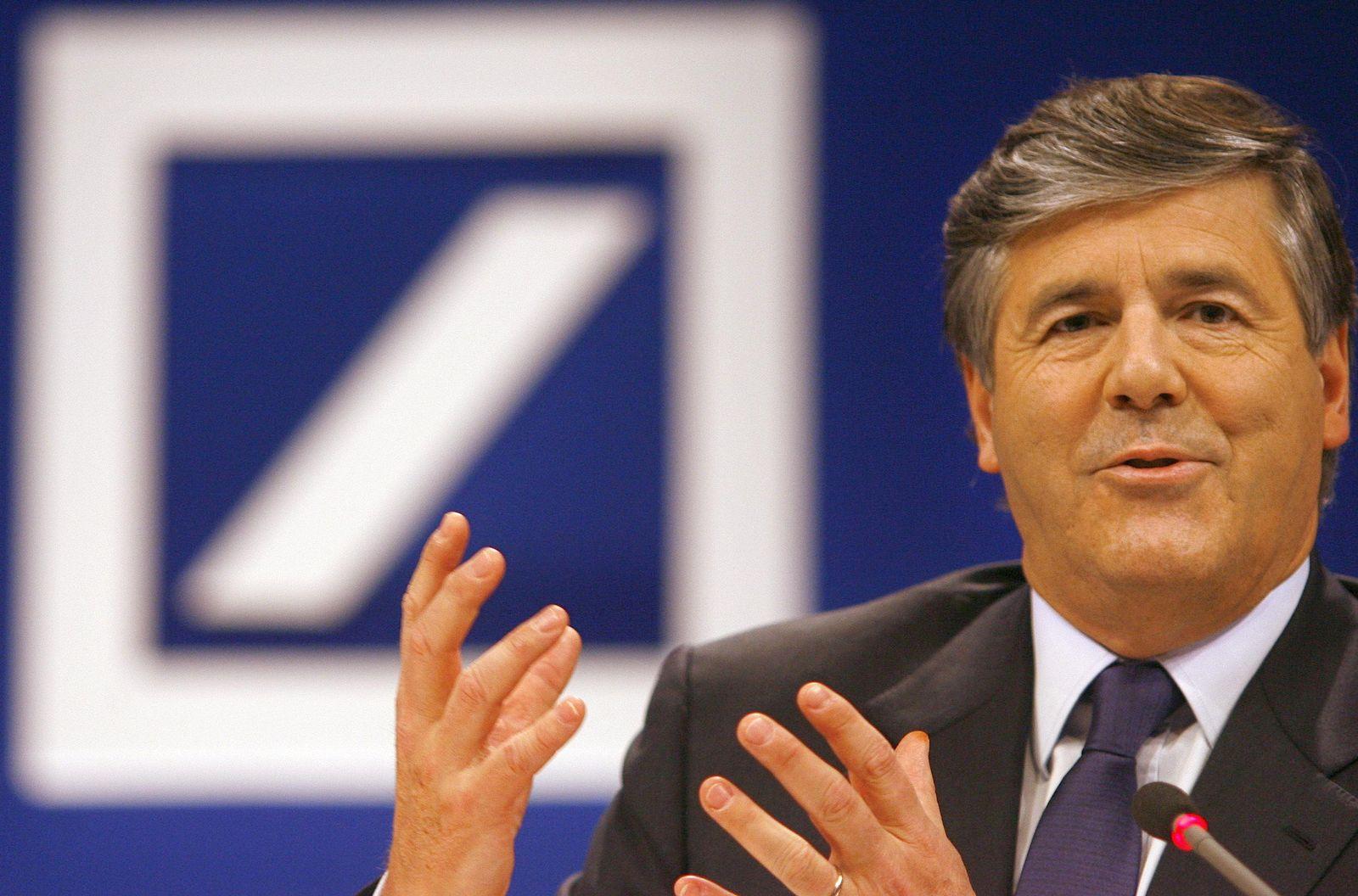 Deutsche Bank Geschichte/ Josef Ackermann 2007