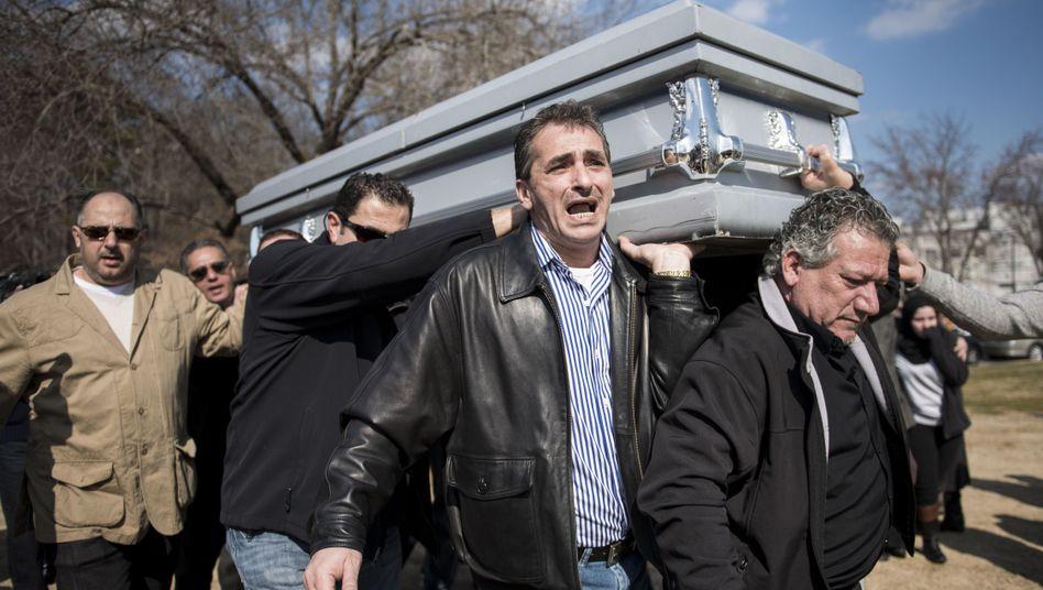 Beisetzung der Studenten in Raleigh im Bundesstaat North Carolina: FBI prüft den Fall