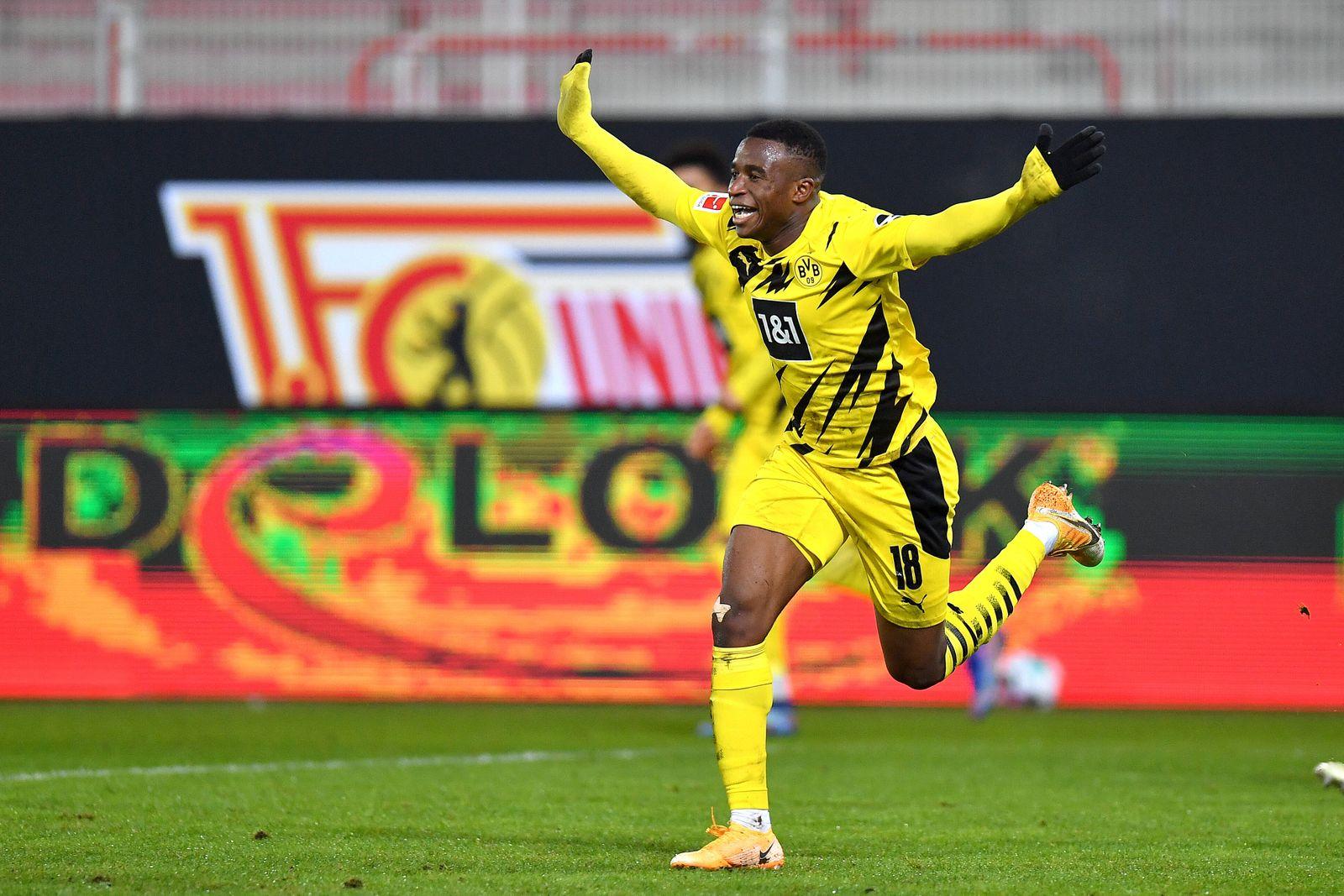 Sport Bilder des Tages Fußball: 1. Bundesliga, Saison 2020/2021, 13. Spieltag, FC Union Berlin - Borussia Dortmund am 1
