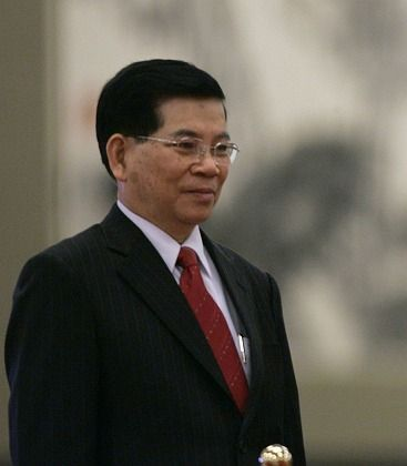"""Vietnamese President Nguyen Minh Triet: """"The rise of countries in Asia is not in opposition to development and affluence in Western nations."""""""