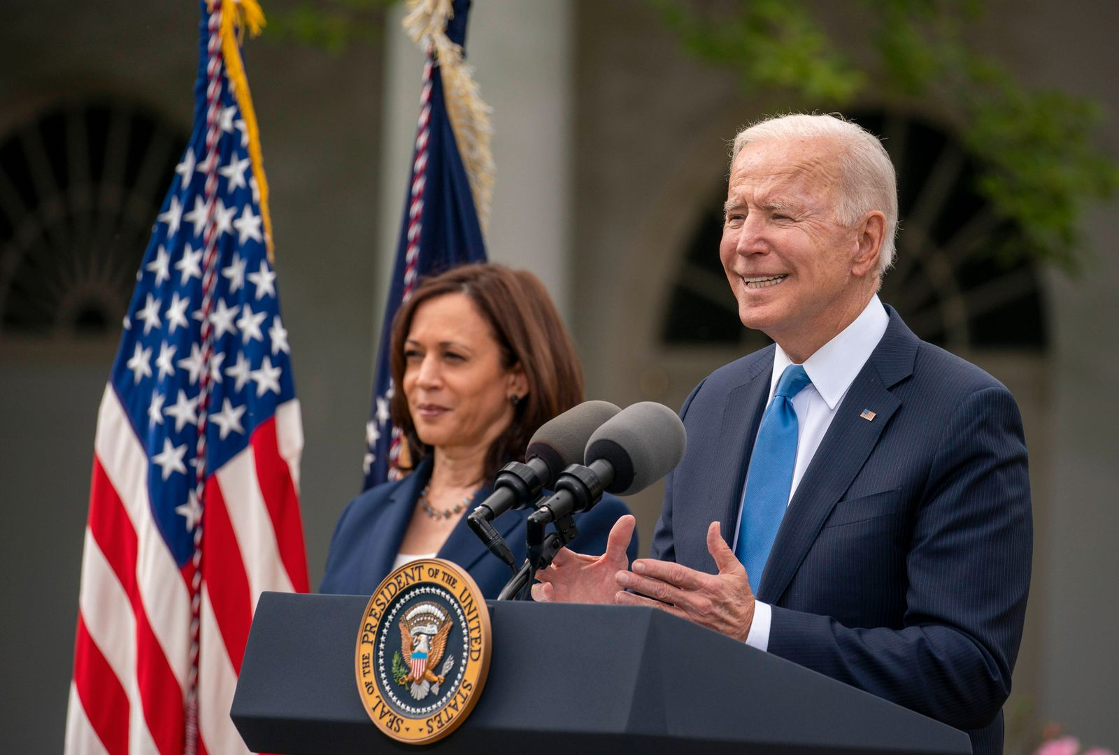 May 13, 2021, Washington, District of Columbia, USA: United States President Joe Biden gives remarks on the new Covid-1