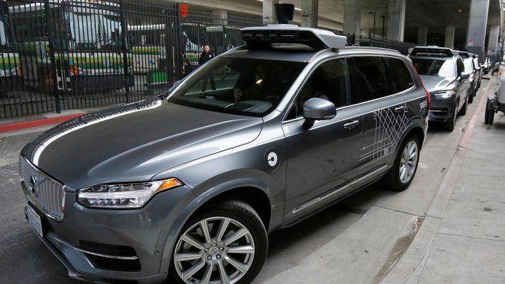 Uber vs. Verkehrsbehörde: Streit auf den Straßen von San Francisco