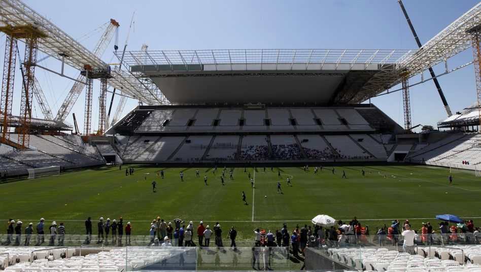 WM-Stadion in São Paulo: Drei Tote seit November