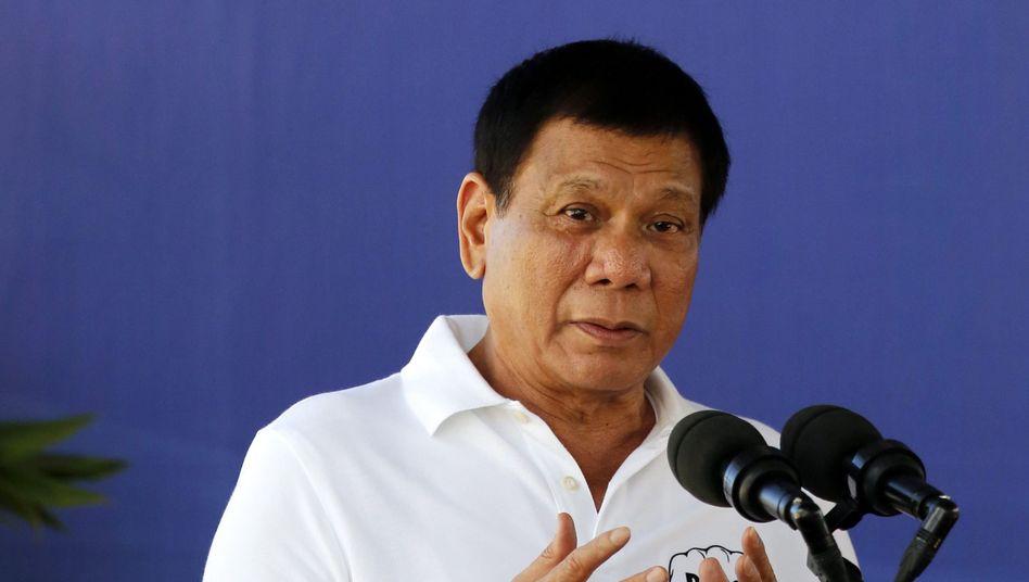 Der philippinische Präsident Duterte