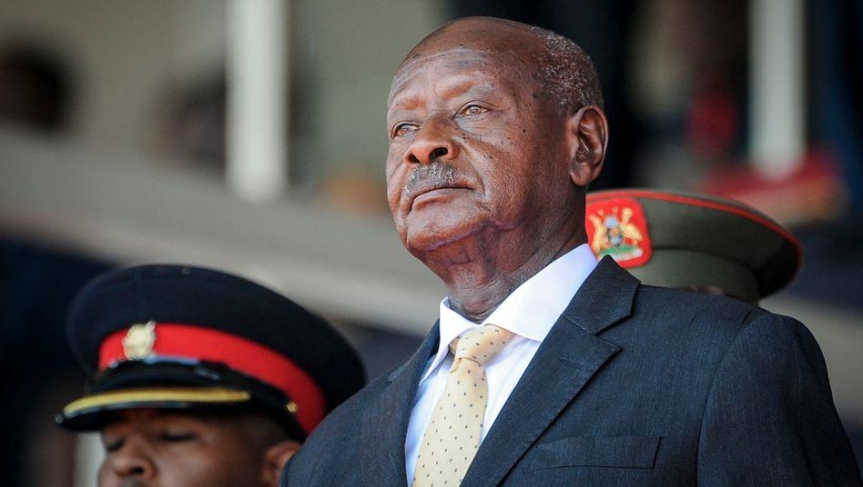 Präsident Museveni: »Die Leute wissen nicht, wovon sie reden«