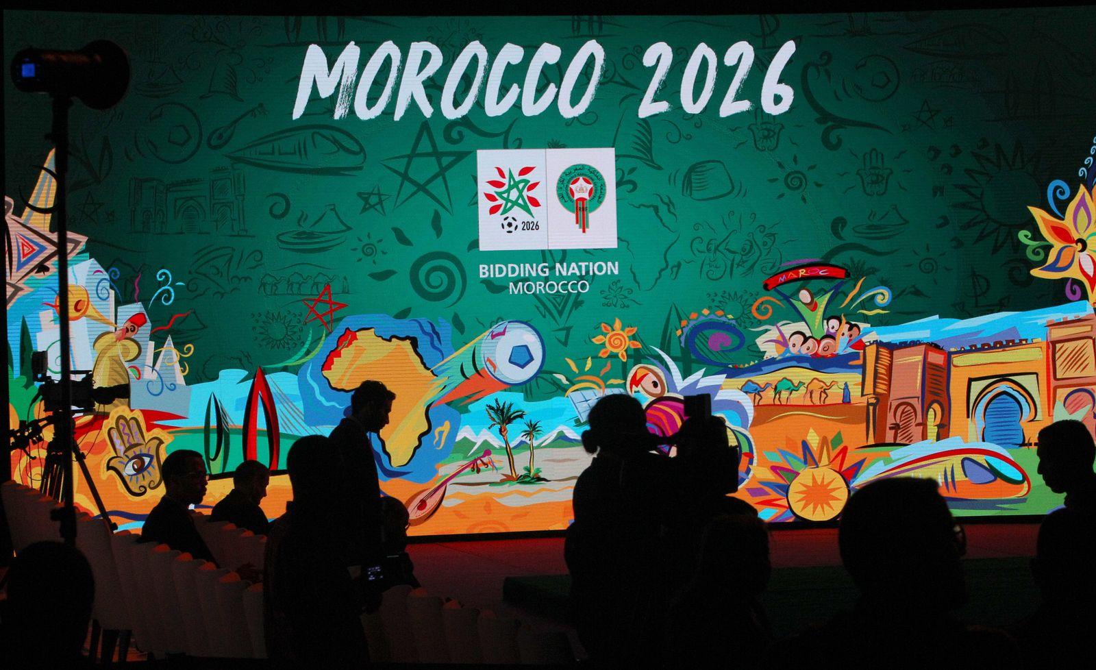 Marokko 2026/ Fussballweltmeisterschaft/ Bewerber