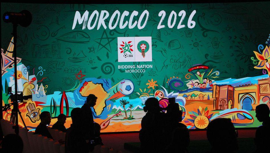 Marokko bewirbt sich um WM 2026