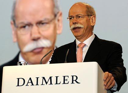 Daimler-Chef Zetsche (Anfang April): Altproblem gelöst
