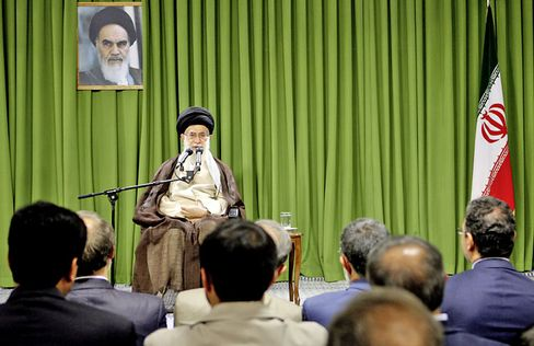 """Iranian Revolutionary leader Khamanei on June 24: """"He very much reminds me of the king (the shah)."""""""