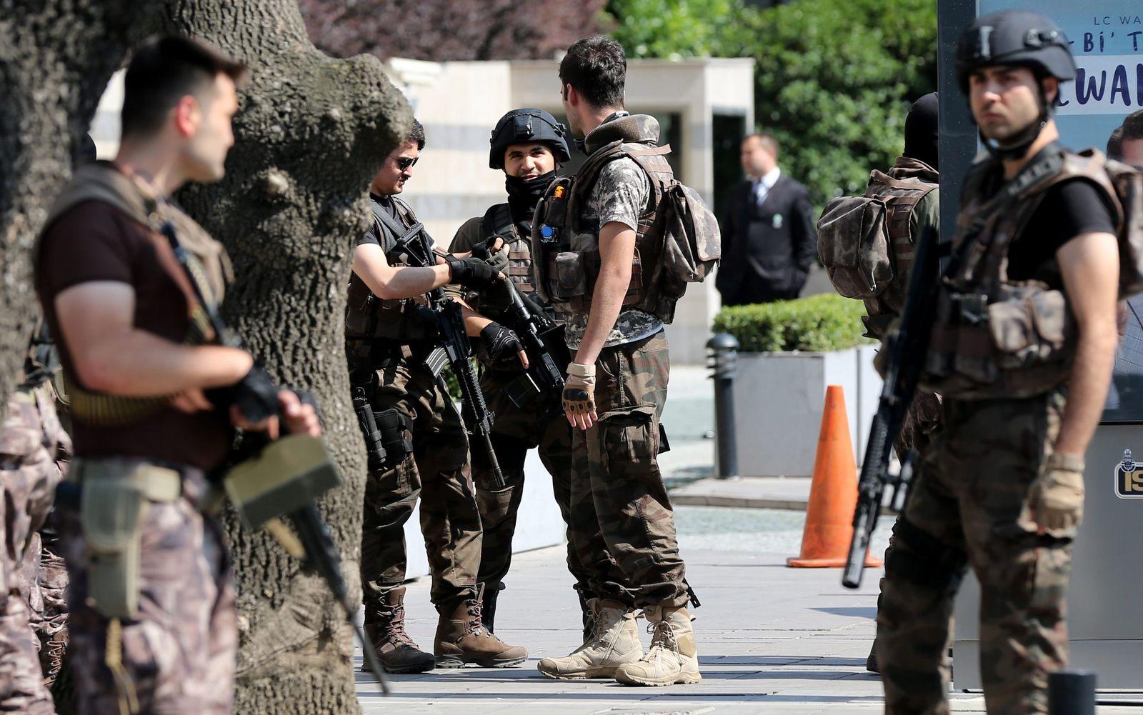 Türkei Sicherheitskräfte