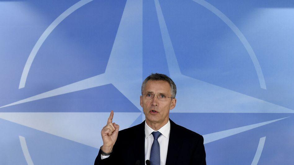 Nato-Generalsekretär Stoltenberg: Verbesserung der Luftabwehr in der Türkei