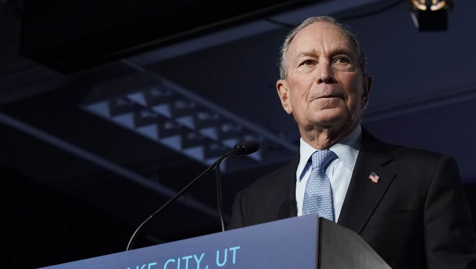 Michael Bloomberg: Kostspielige drei Monate