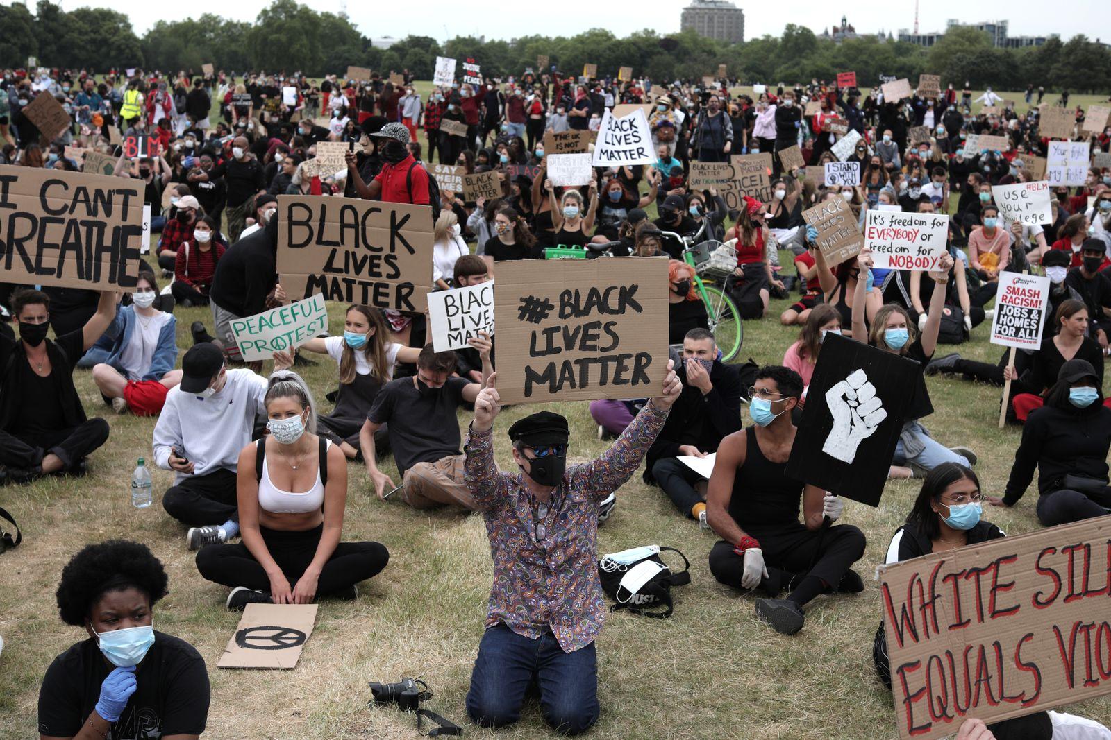 Black Lives Matter Movement Inspires Protest In London