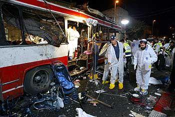 Selbstmordanschlag in Jerusalem