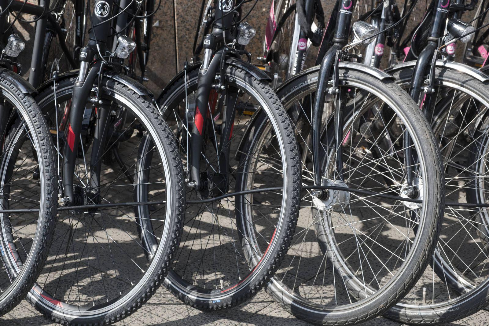 EINMALIGE VERWENDUNG Fahrradhändler