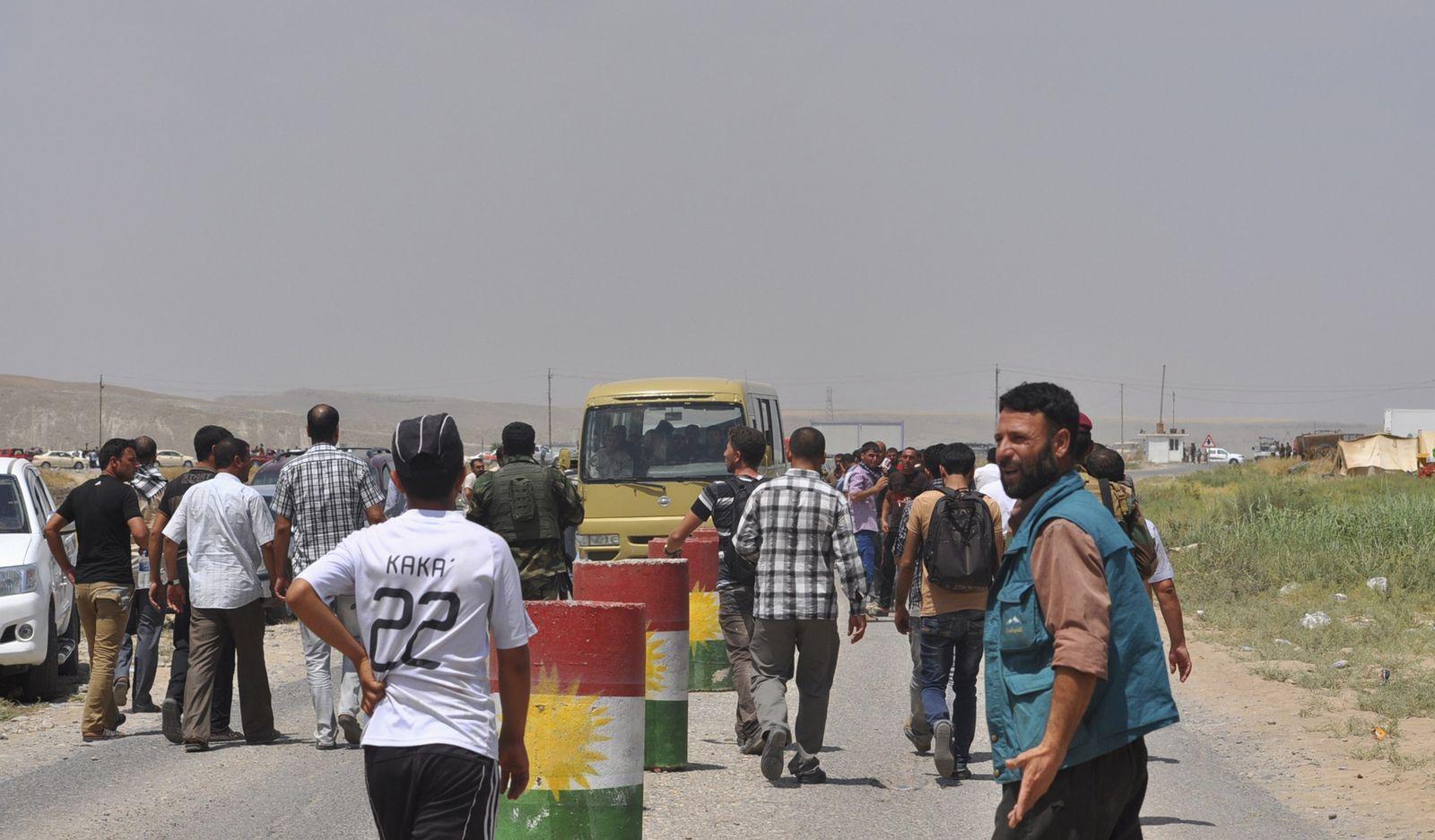 Jesiden auf der Flucht / Irak