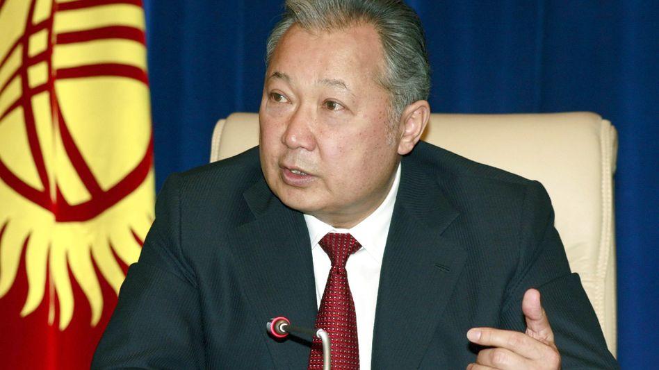 Gestürzter Präsident Bakijew: Weg für Neuanfang frei