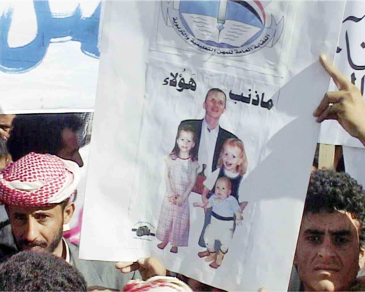 Jemen/ Saada/ Protest/ Entführungen