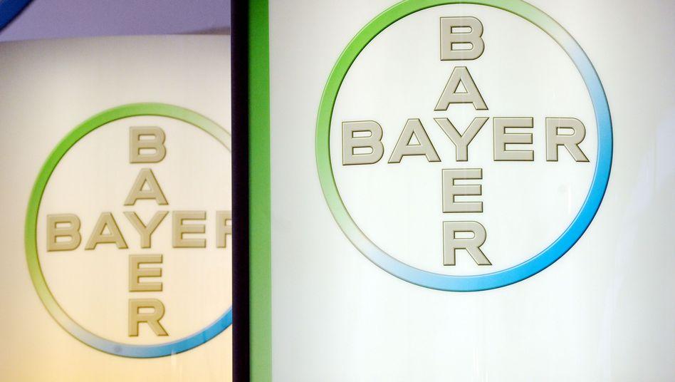 Logo des Bayer-Konzerns