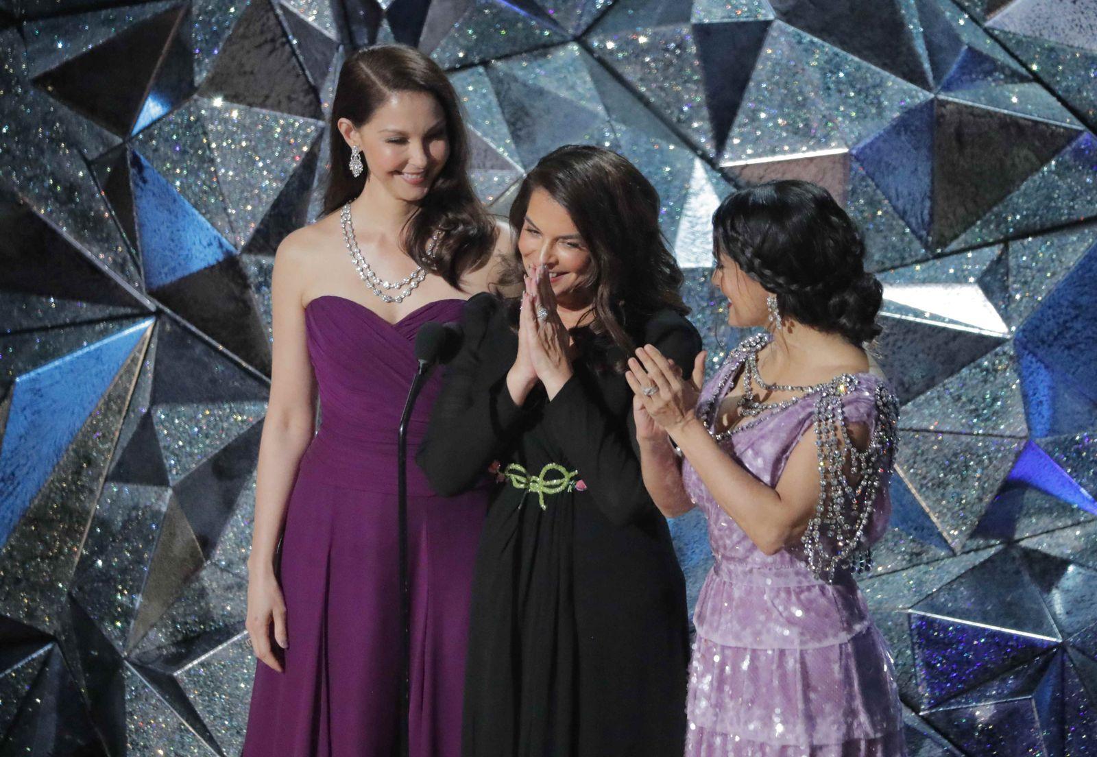 Oscars/ Judd & Sciorra & Hayek