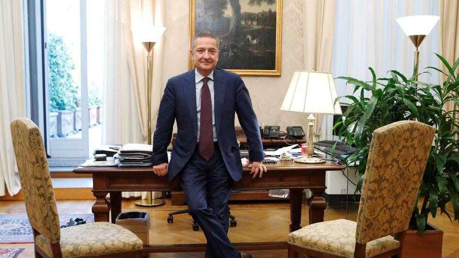 Der Vater des digitalen Euro: EZB-Direktoriumsmitglied Fabio Panetta