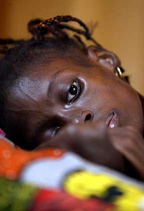 Aids is just one of the many difficulties facing Africa.
