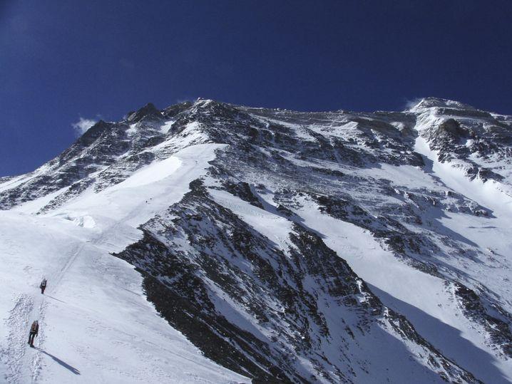 Nordroute auf den Everest in China
