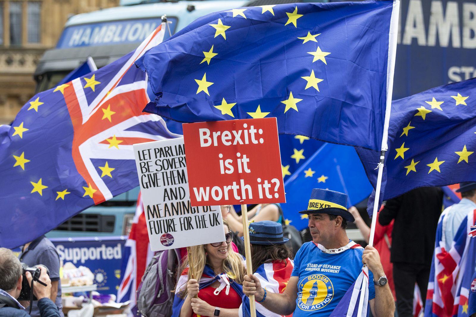 Brexit / Proteste / Gegner