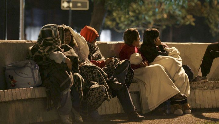 Erdbeben in Chile: Zerstörung, Chaos, Angst
