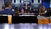 Trump verbreitet Verschwörungstheorie über Amtsanrecht von Kamala Harris