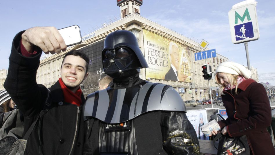 Darth Vader in Kiew: Ominöse Internetpartei