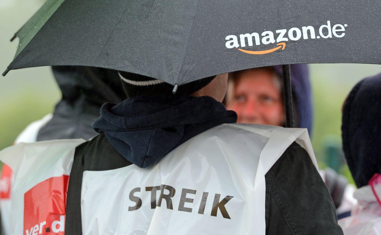 Amazon / Warnstreik / Leipzig