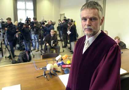 Ankläger Walter Hemberger: Unbedingter Wille zur Verurteilung