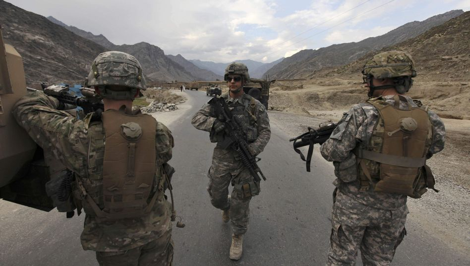 US soldiers in Kunar province: Germany is under pressure to send more troops to Afghanistan.