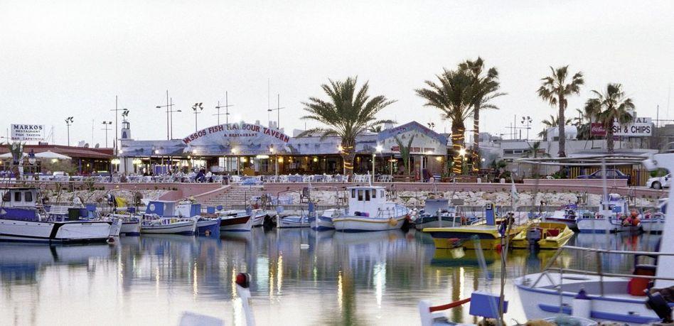 Hafen auf Zypern