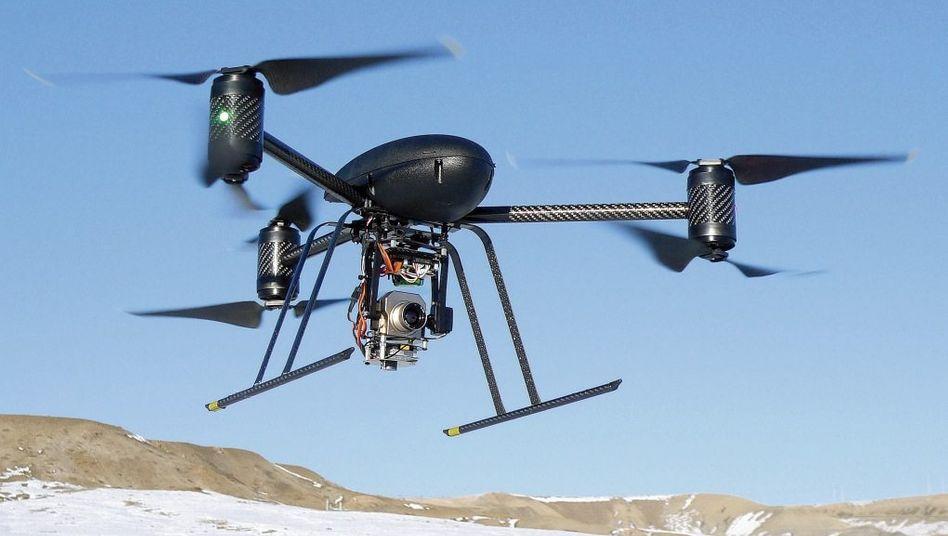 Drohne »Draganflyer X6«