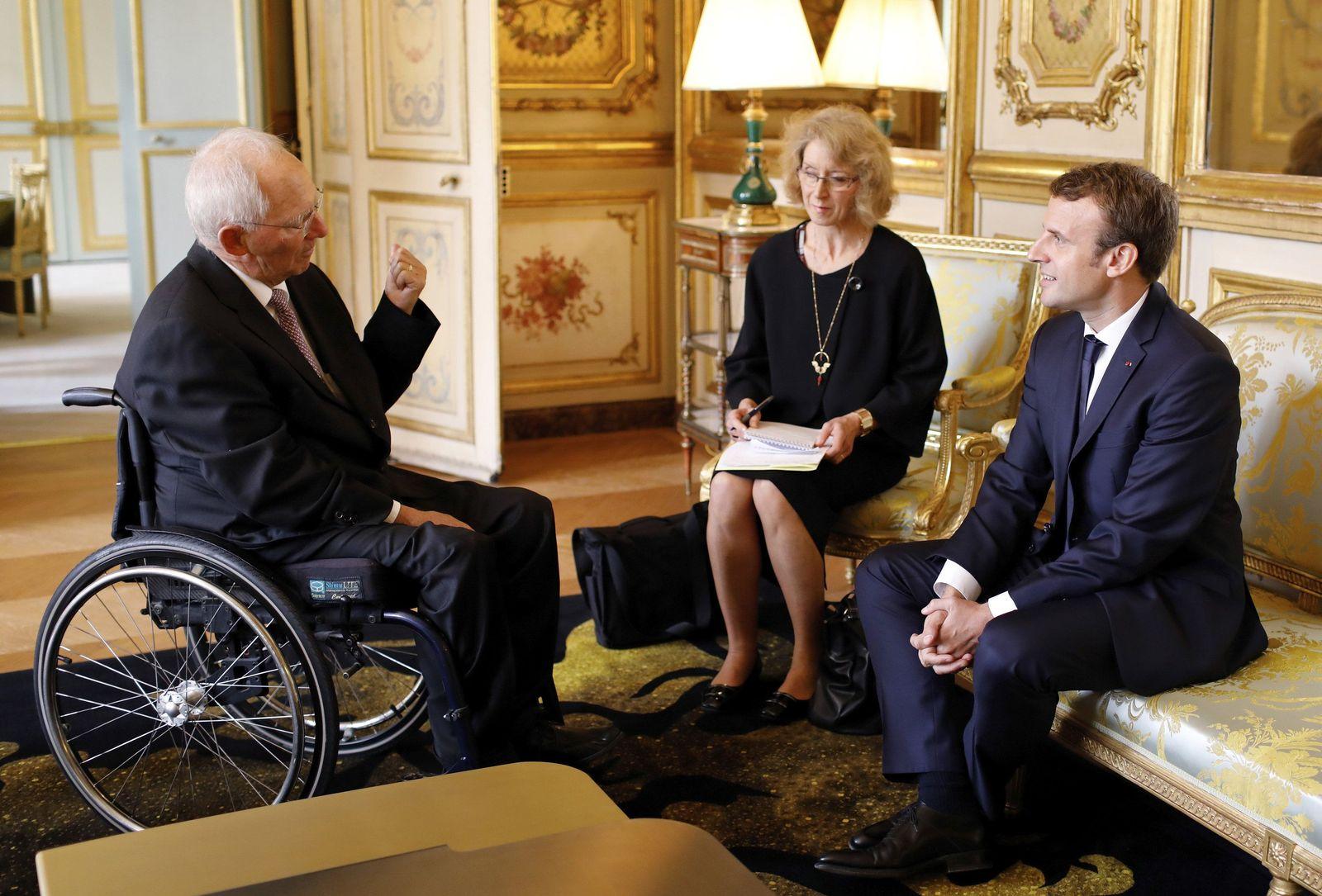 Schäuble in Paris